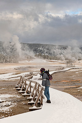 Yellowstone National Park, UNESCO World Heritage Site, Wyoming, United States of America - p871m2101234 by Jordan Banks