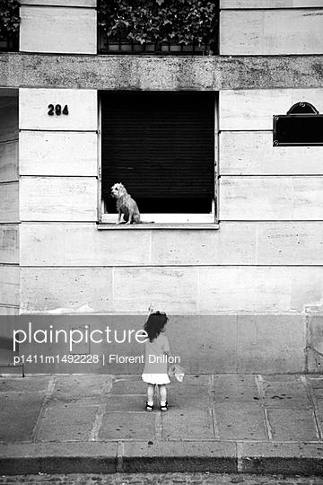 Straßenszene Paris - p1411m1492228 von Florent Drillon