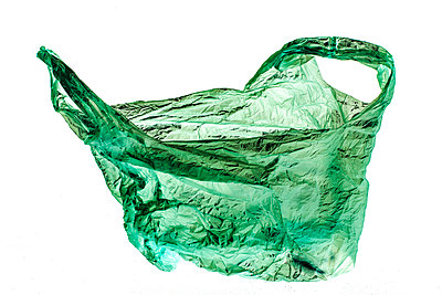 Plastic bag - p445m1119676 by Marie Docher