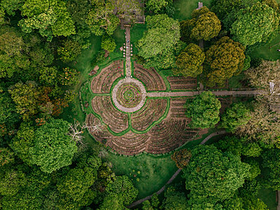 Indonesia, Bali, Bedugul, Bali Botanic Garden - p300m2070227 by Konstantin Trubavin