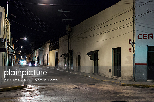 On the road at night - p1291m1531866 by Marcus Bastel