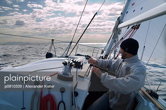 In die Kurve legen - p0810339 von Alexander Keller