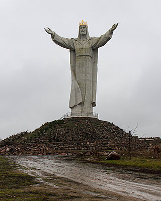 Christ the King - p1214m1016934 by Janusz Beck