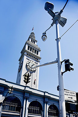 Ferry Building, Farmers Market in San Francisco - p312m672842 by Bruno Ehrs