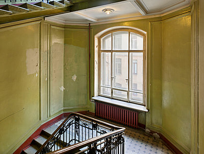 Staircase - p390m1011476 by Frank Herfort