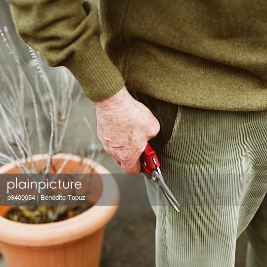 Gardening - p9400054 by Bénédite Topuz