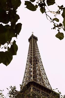 Eiffel tower - p1063m1200617 by Ekaterina Vasilyeva
