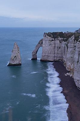 Porte d´Aval, Normandie - p1203m1064129 von Bernd Schumacher