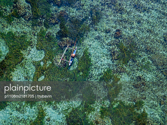 Indonesia, Bali, Outdigger - p1108m2181705 by trubavin