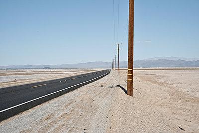Desert road - p911m945469 by Gaëtan Rossier
