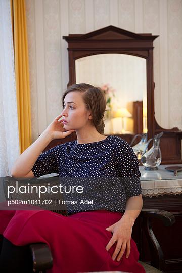 Pensive - p502m1041702 by Tomas Adel
