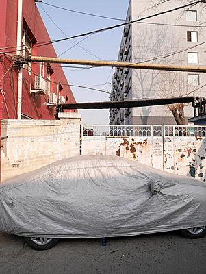 Hinterhof, Beijing - p1021m1008347 von MORA