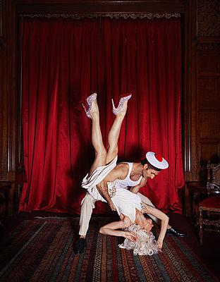 Erotic dance - p1081m2273032 by Cédric Roulliat