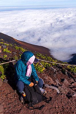 Am Fuji - p1271m2055373 von Maurice Kohl