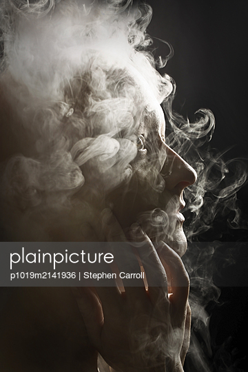 Filled with smoke - p1019m2141936 by Stephen Carroll