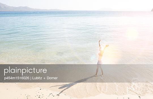 Am Ziel - p454m1516026 von Lubitz + Dorner