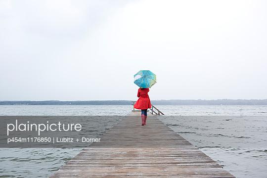 Hochwasser - p454m1176850 von Lubitz + Dorner