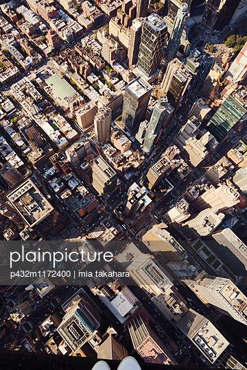 New York aus der Luft - p432m1172400 von mia takahara