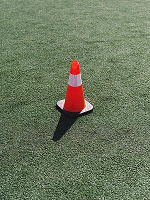 Orange Cone - p1335m1508320 by Daniel Cullen