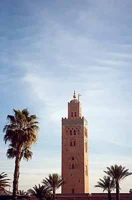 Koutoubia-Moschee am Morgen - p382m1171593 von Anna Matzen