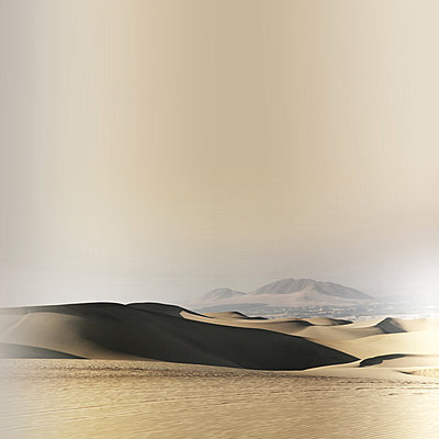 Sanddunes in Huacachina - p1038m1563938 by BlueHouseProject