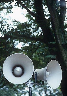 Lautsprecher im Freien - p1157m1093012 von Klaus Nather