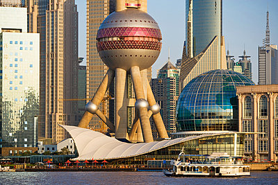 Oriental pearl tower - p9246153f by Image Source