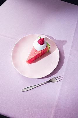 Melon pie - p1149m2089354 by Yvonne Röder