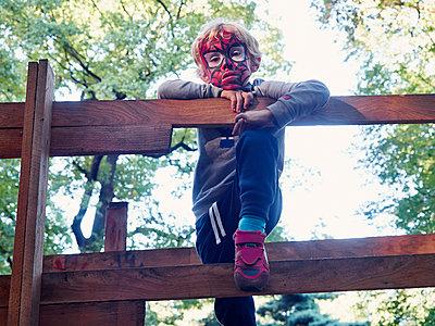 Spiderman - p358m1217512 von Frank Muckenheim