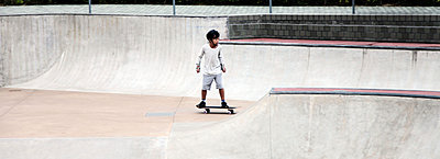 Little Skater - p664m1068443 by Yom Lam
