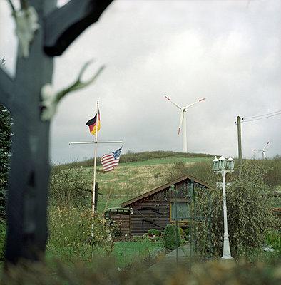 Schrebergarten - p154m668917 von Nele Heitmeyer
