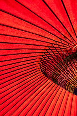 Japanischer Schirm - p7290026 von Matthias Schmiedel