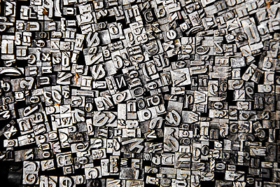 Typography letters - p1062m1172142 by Viviana Falcomer