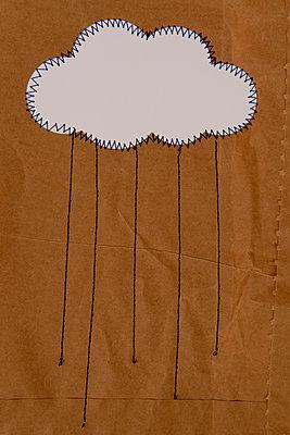 Rain cloud - p451m2258036 by Anja Weber-Decker