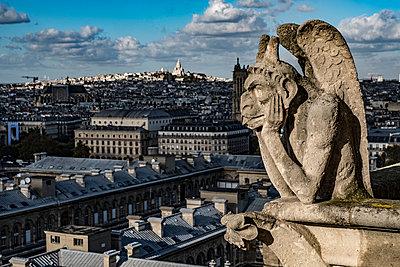 Kathedrale Notre-Dame de Paris - p1243m1515691 von Archer