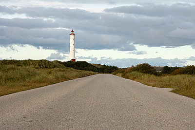 Lighthouse in Denmark - p7920025 by Nico Vincent