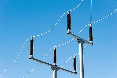Transformer station of wind farm - p1079m1042401 by Ulrich Mertens