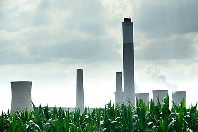 Kohlekraftwerk - p967m2045626 von Wessel Wessels