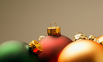 Christmas ornaments - p4421897f by Design Pics