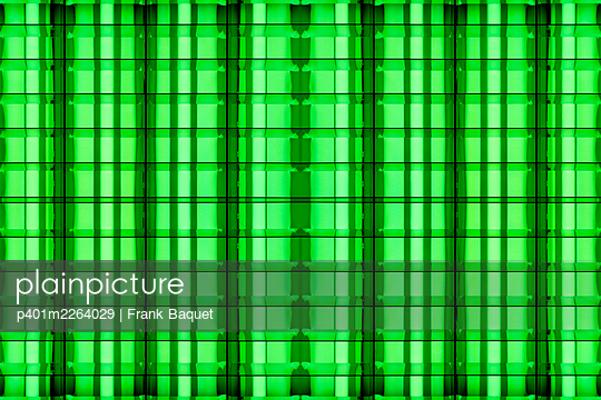 Abstract light kaleidoscope - p401m2264029 by Frank Baquet