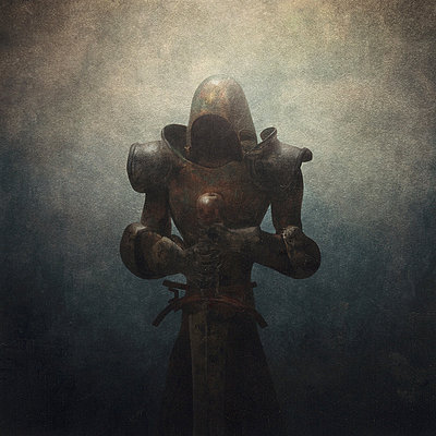 The Black Knight - p1080m1013332 by Michael Vincent Manalo