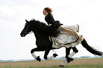 Pferdekuss - p2430301 von Claudia Anys