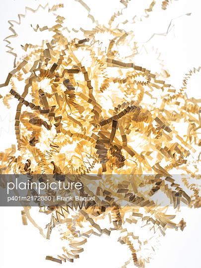 Paper stripes - p401m2172880 by Frank Baquet
