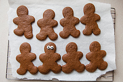 Cut Out Cookies - p1262m1083715 by Maryanne Gobble