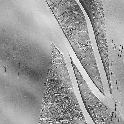 Skiing region - p356m822663 by Stephan Zirwes
