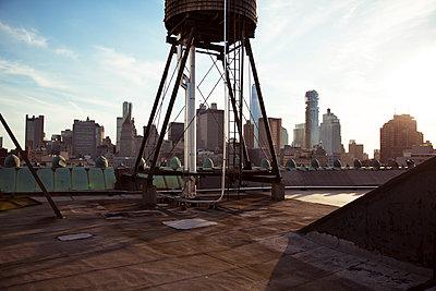 New York von oben - p432m1172407 von mia takahara