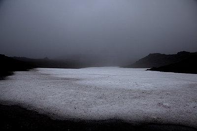 Gletscher im Nebel - p979m1072047 von Sabine Skiba