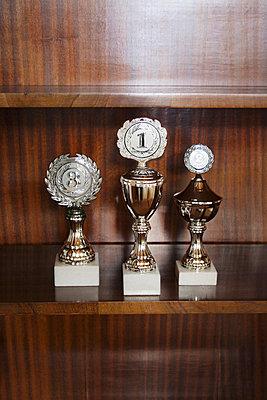 Pokale im Schrank - p2141541 von hasengold