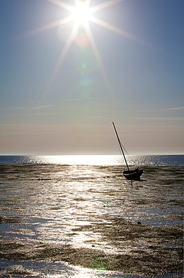 Sailing boat in Northern Germany - p4880365 by Bias
