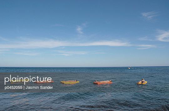Entspannt im Mittelmeer - p0452055 von Jasmin Sander